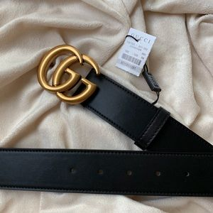 💕 New GUCCl Authentic GG Belt